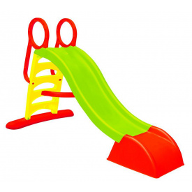 Горка спуск 180см детская пластиковая Mochtoys зелена