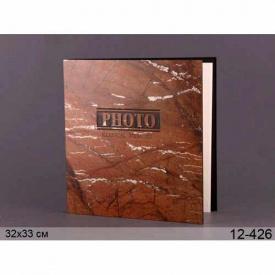 Фотоальбом Lefard 32х33 см коричневий (12-426)