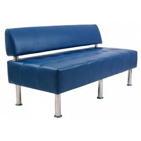 Диван Richman Офис Двойка 1550 x 680 x 750H см Со спинкой Boom 21 Синий