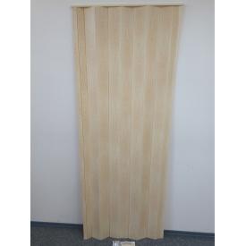 Ширма гармошка межкомнатная №7012 Сосна 820х2030х0,6 мм дверь раздвижная пластиковая глухая