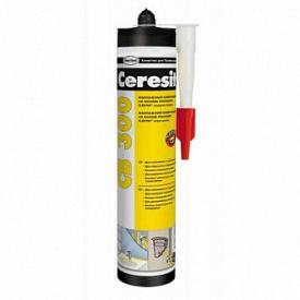Белый монтажный клей-герметик на основе полимера Flextec Ceresit CB 300 400 г