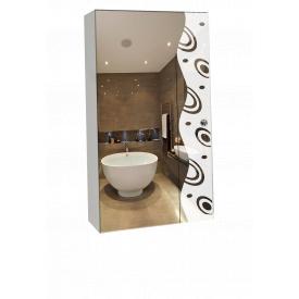 Шкаф-зеркало 40x70x14см ШК801