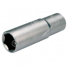 "(70041) Головка торцева шестигранна 1/2"" сатин 17х38 мм HAISSER"