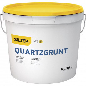 Siltek Quartzgrunt Грунт-краска контактная 14 кг