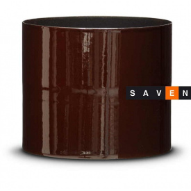 Сполучна вставка хомут внутрішньо-зовнішній емальована сталева DOVRE 0,11 м 150 E6