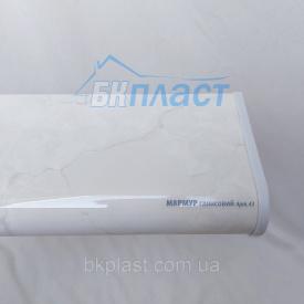 Подоконник PLASTOLIT Глянец мрамор 450