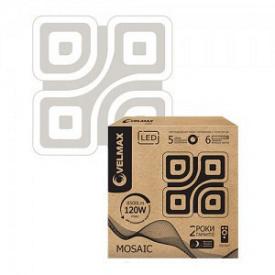 LED светильник VELMAX V-CL-MOSAIC 120W smart 3000-6500K 8500Lm пульт ДУ