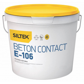 Siltek E-106 Beton Contact Грунтовка адгезионная 5 л