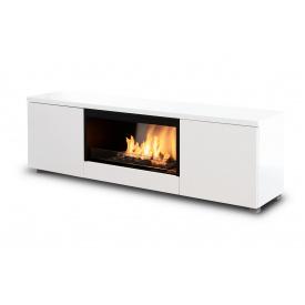 Автоматичний біокамін Planika Pure Flame TV Box White MDF