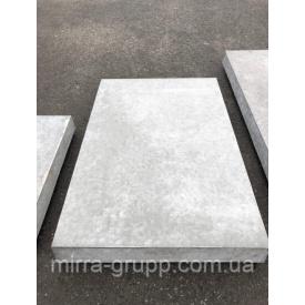 Еко-плита тротуарна армована 5П.7-Й F200 750х500х70 мм сіра