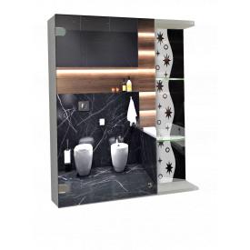 Шкаф-зеркало 60x70x14см ШК809