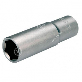 "(70036) Головка торцева шестигранна 1/2"" сатин 12х38 мм HAISSER"