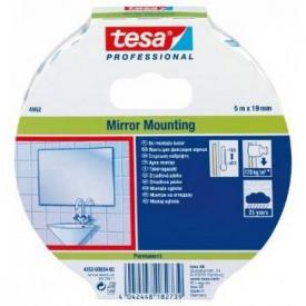Монтажная лента для зеркал 5 м 19 мм Tesa