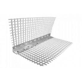 Контрашульц з сіткою алюмінієвий 7x7 2,5 м
