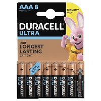 Батарейки DURACELL LR03 KPD 08х10 Ultra упаковка по 8 шт