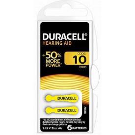 Батарейки слухові DURACELL HA 10 1 шт