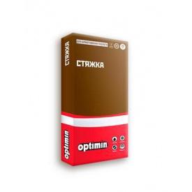 Стяжка для улаштування підлоги Optimin по 25кг