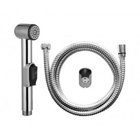 Гігієнічна душова лійка AM.PM зі шлангом і тримачем, колір хром F0202000