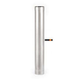 Труба для дымохода с нержавеющей стали одностенная 1м 150 1 мм AISI 201