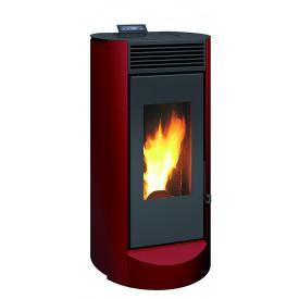 Пеллетная печь камин INVICTA LODI 7 красная