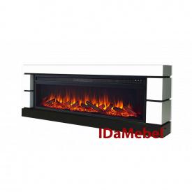 Електрокамін з порталом ROYAL FLAME Blanca LOG + вогнище Vision 60 LOG LED