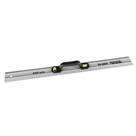 Линейка строительная с ручкой MASTER TOOL AL 80см, 2 капсулы (39-5080)