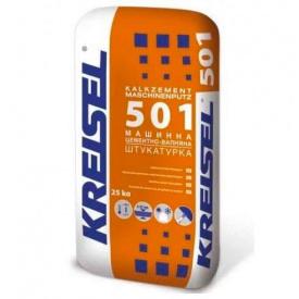 Штукатурка известково-цементная Kreisel 501 машинная 25кг