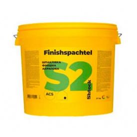 Шпаклевка акриловая Shtock Finishspahtel S2 17кг