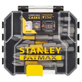 Набор бит STANLEY FatMax Phillips, Ph2, 50 мм, 10 шт пластиковый кейс (STA88573)