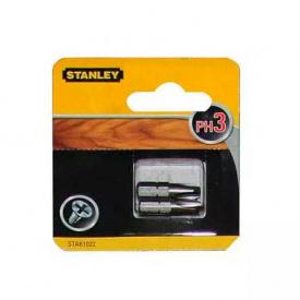 Набор бит STANLEY односторонняя, Ph3, 25 мм, 2 шт (STA61022)