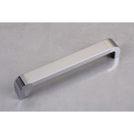 Ручка мебельная Falso Stile РК-260хром глянцевый/хром матовый