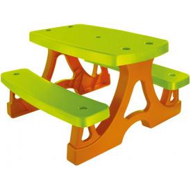 Дитячий столик з лавками Mochtoys 10722