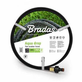 Шланг сочащийся Bradas AQUA-DROP FLAT 1/2 7,5м (WADF1/2075)