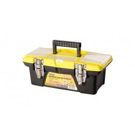 """Ящик для инструмента MASTER TOOL 13"""" 355x185x130мм съемные органайзеры (79-2313)"""