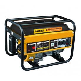 Генератор бензиновый Sigma 2.0/2.8кВт, 4-тактный ручной запуск (5710221)
