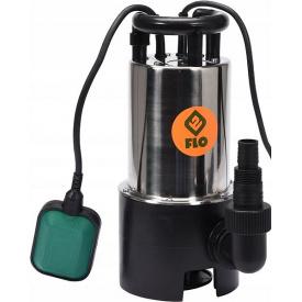 Насос дренажный для грязной воды FLO сетевой 750Вт 14000 л/ч (79790)