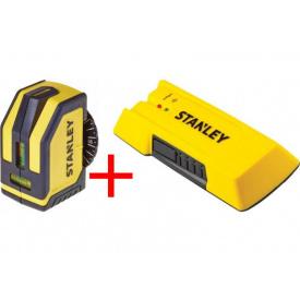 Уровень лазерный STANLEY STHT1-77148+детектор неоднородности STHT0-77050 (STHT1-77148+STHT0-77050)