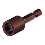 1111-10 Головка 6-гранна 10 мм з магніт японська сталь S 2 ЦІ