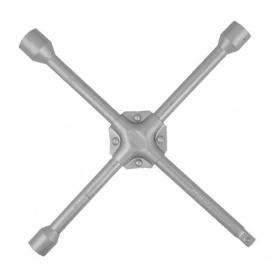 "HT-1604 Ключ балонный крестообр усиленный 355x16мм 17x19x21мм*1/2"""