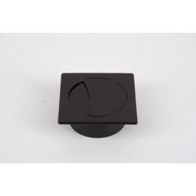 Заглушка під дроти Poliplast квадратна 74x74 чорний