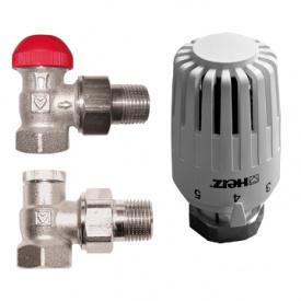 Термостатический комплект угловой Herz