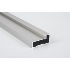 Алюминиевый рамочный профиль для мебельных фасадов М 4 5,95 м алюминий BRUSH