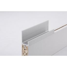 Меблева ручка профільна врізна Н 2 для ДСП 18 мм 5,95 м алюміній натуральний