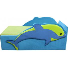Детский диванчик Ribeka Дельфинчик Голубой (26M02)