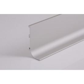 Профильалюминиевый для фасадов без ручек L-образный 5,95 м алюминиевого цвета ФБР L