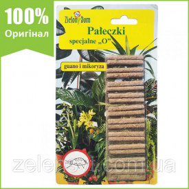 Удобрение-палочки от вредителей (20 шт) ZielonyDom