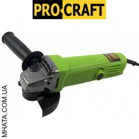 Кутова шліфувальна Машина PROCRAFT PW - 1000 115 мм
