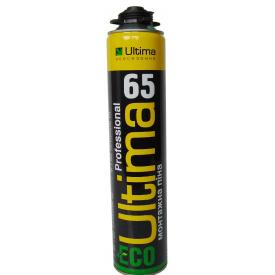 ULTIMA ECO Поліуретанова монтажна піна ПРОФ-10 всесезонна 842 ml 12 шт ПТ-2143