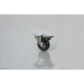Меблевий ролик GTV BRAZYLIA 50 з гальмом чорний