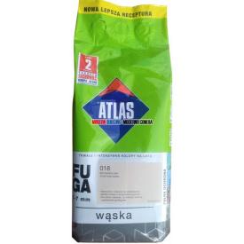 Затирка для плитки АТЛАС WASKA 200 холодний білий 2 кг
